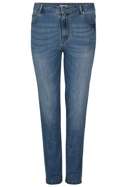 Slim jeans in katoen - Denim
