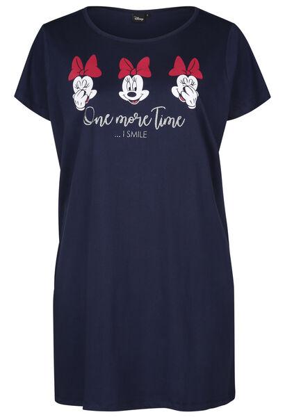 Robe de nuit coton Minnie - Marine