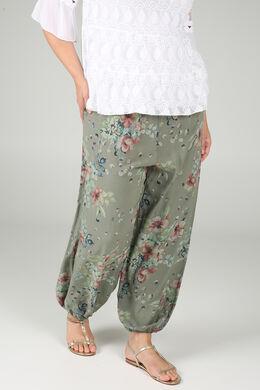 Pantalon en fibranne, Kaki